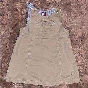 Little girl overall dress. TH size 18 to 24 months